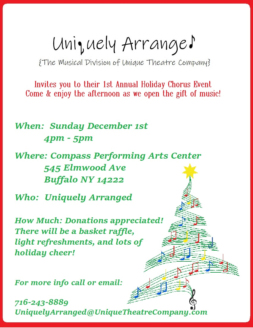 Holiday Concert Invite
